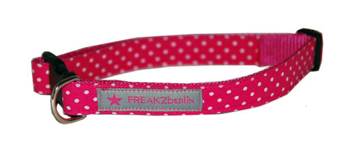 Hundehalsband Little Dots Pink