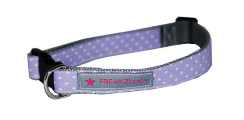 Hundehalsband Little Dots Lilac